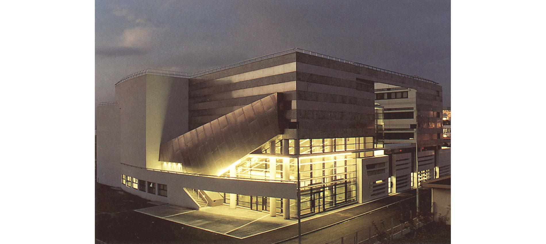 Batiment Arts du Spectacle Universite Paris X Nanterre