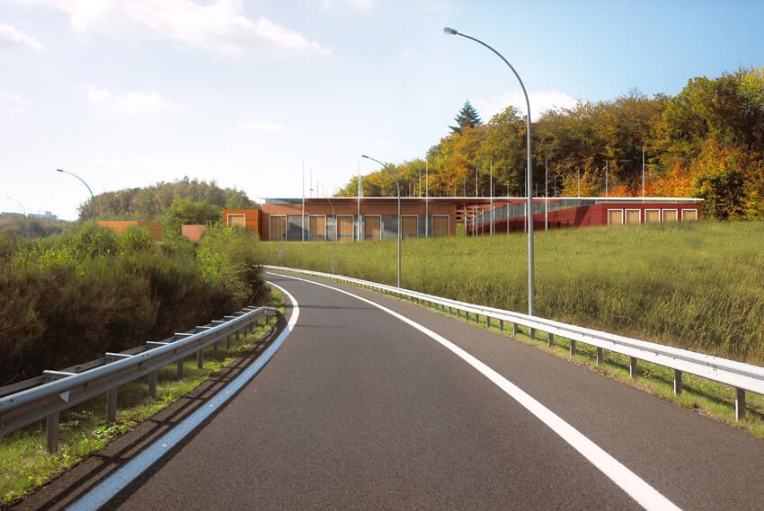 Centre de Maintenance Tramxay Luxembourg
