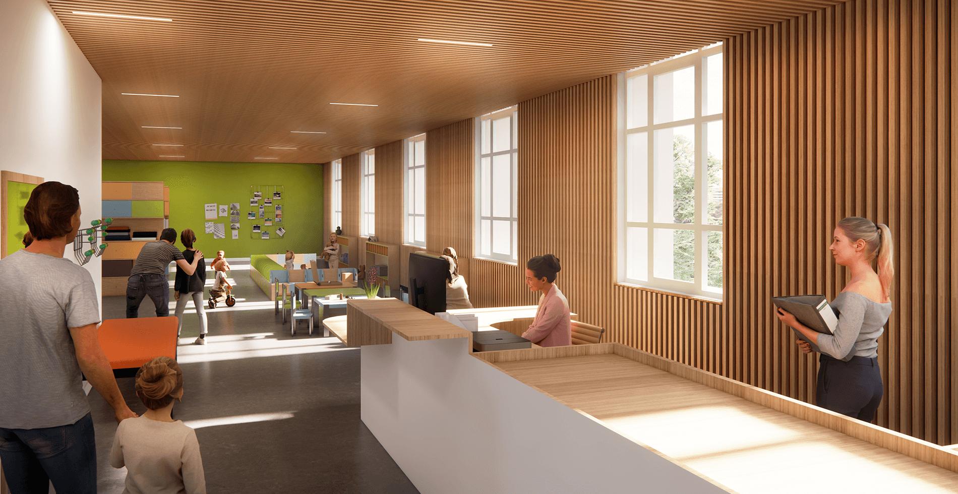 Réhabilitation du bâtiment de l'Orangerie - Montbrison