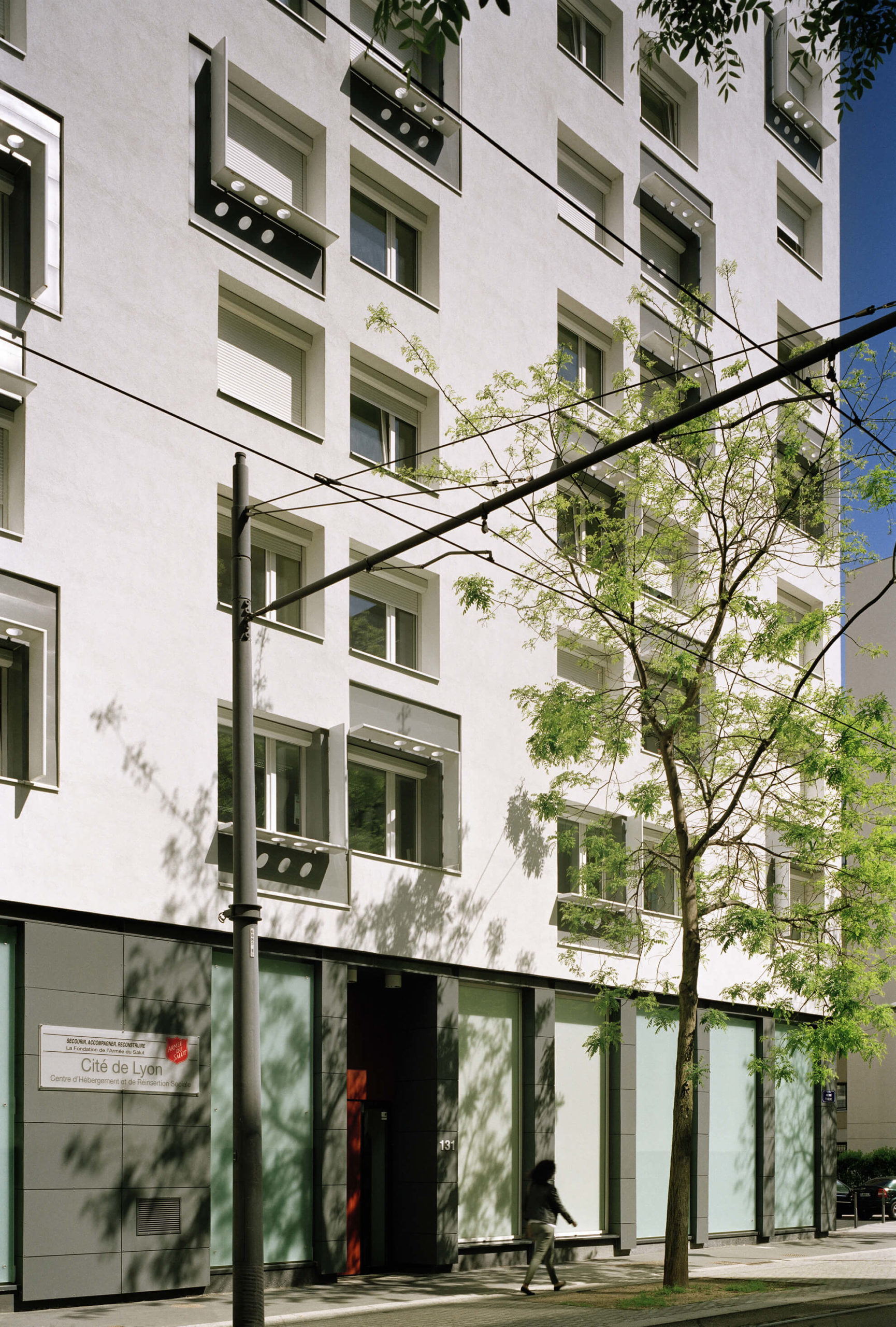 Immeuble LYON CITE - Hébergement Armée du Salut à Lyon 6e