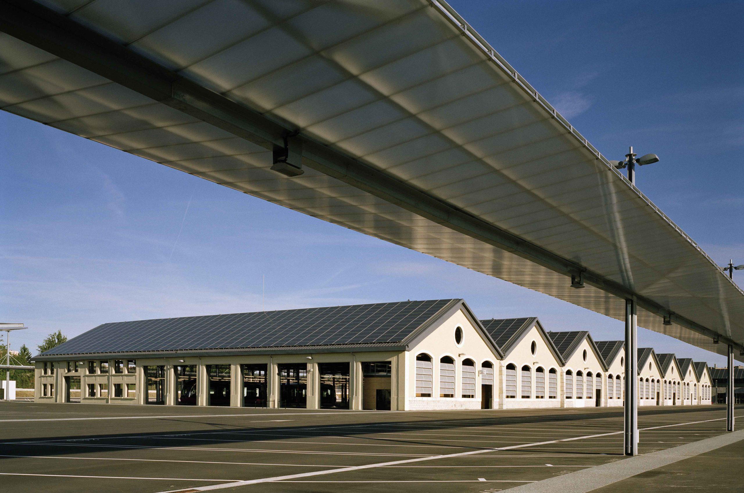 Centre de maintenance du tramway - agglomération dijonnaise