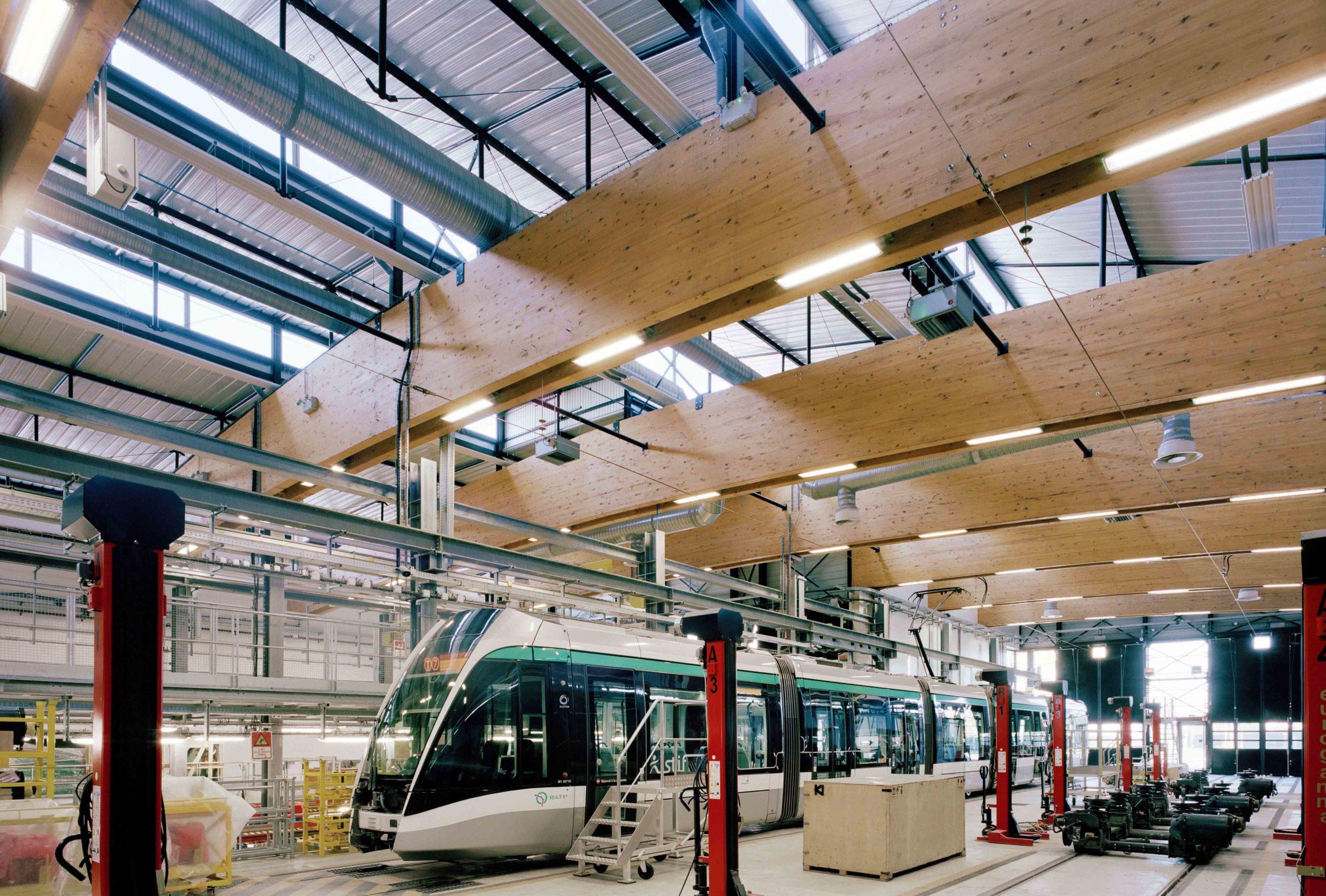 Centre de Maintenance du Tramway RATP T7 à Vitry-sur-Seine