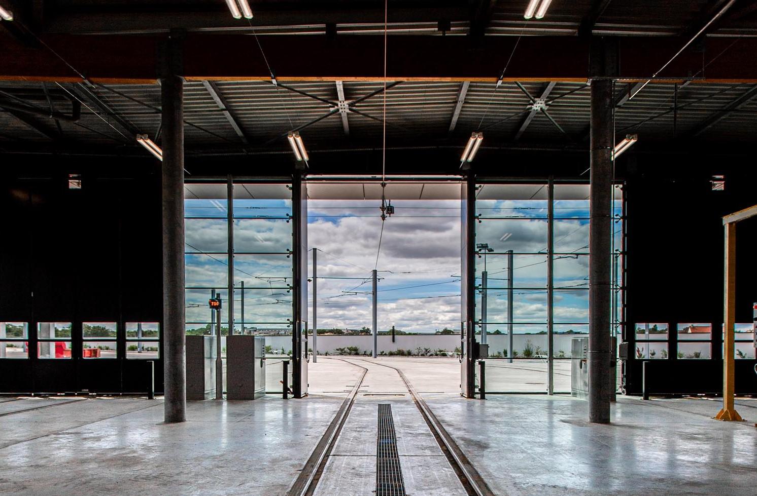 Centre maintenance tramways de Caen
