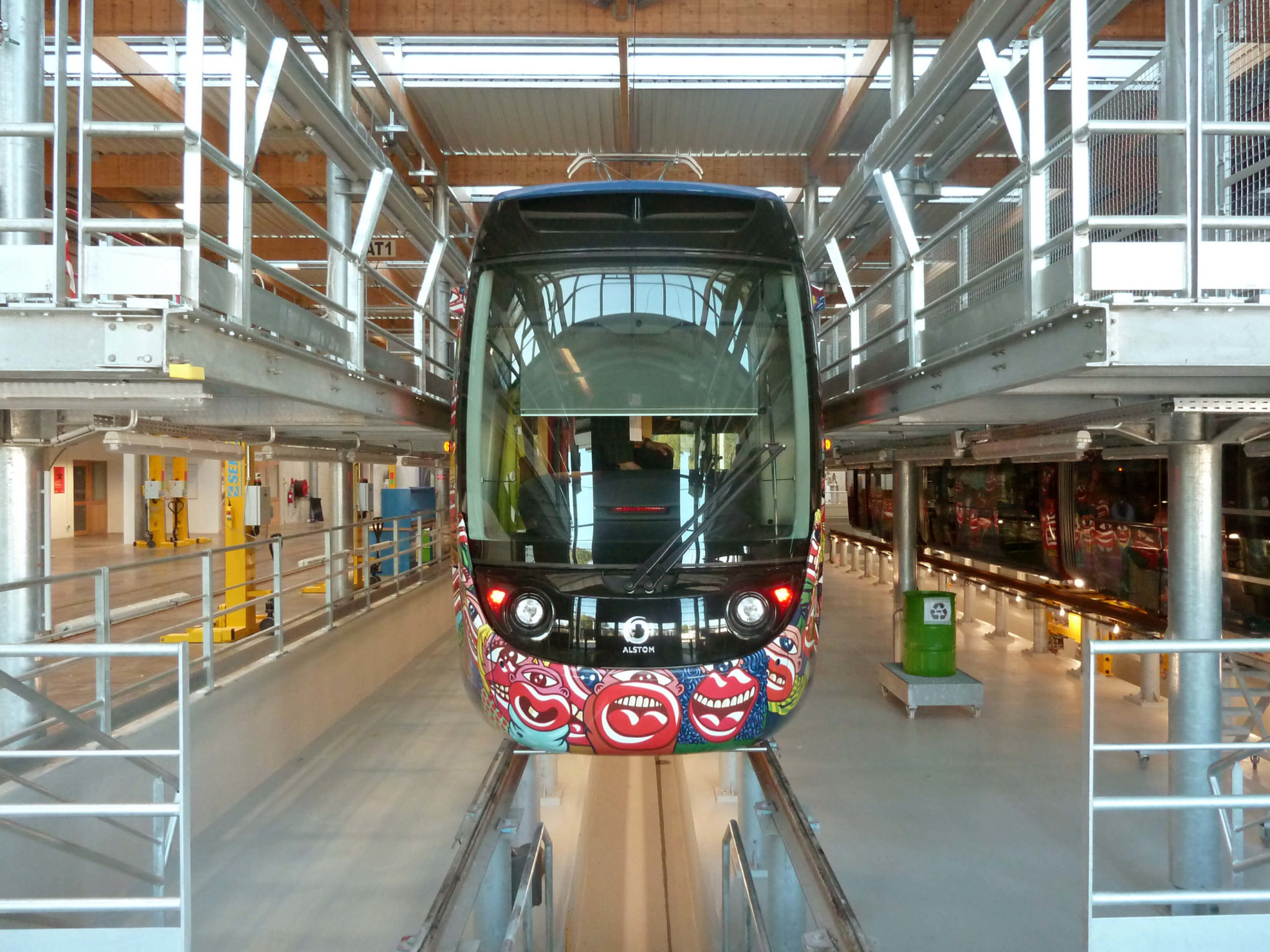 Dépôt tramway de Aubagne
