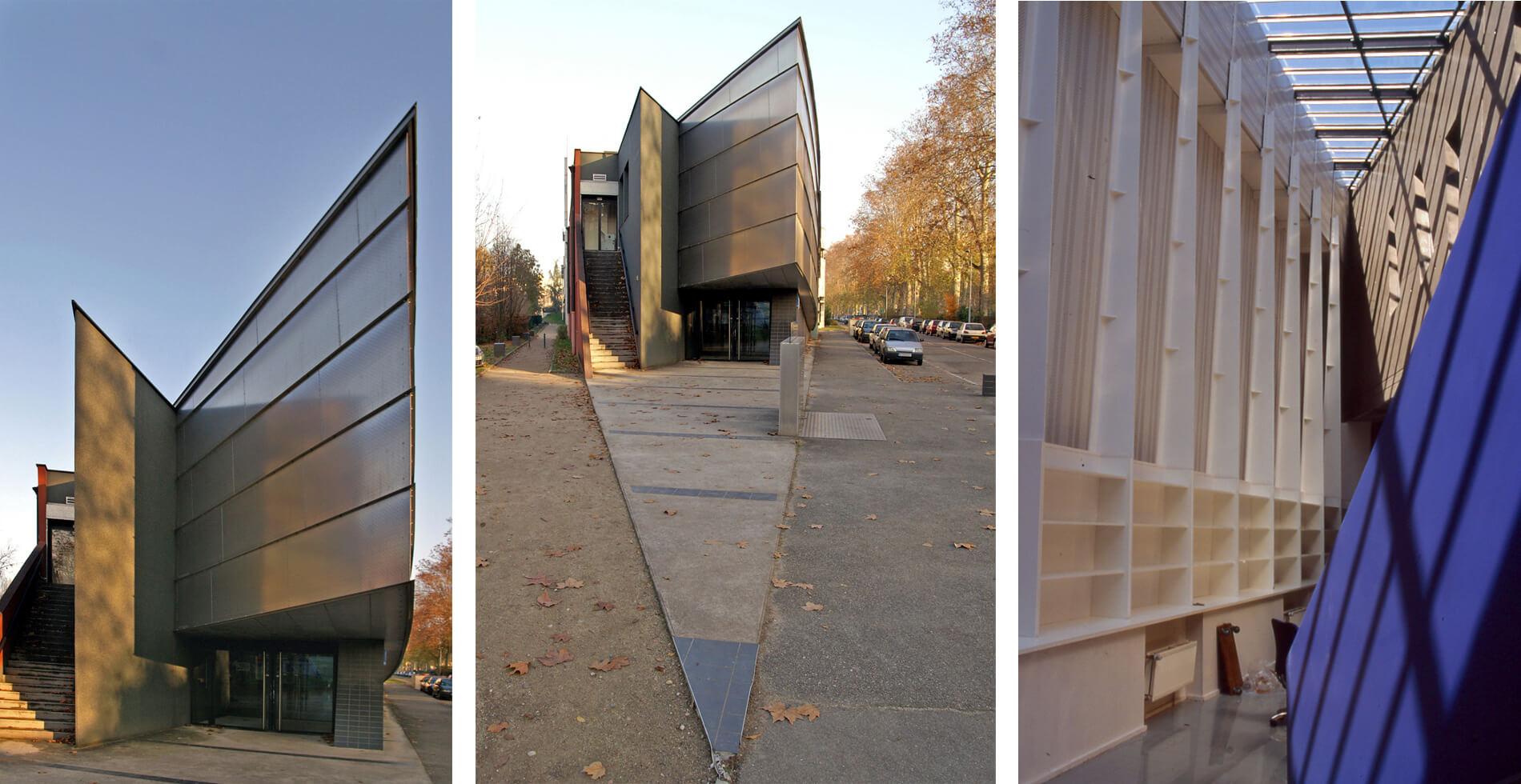 Maison condorcet campus de la doua Villeurbanne