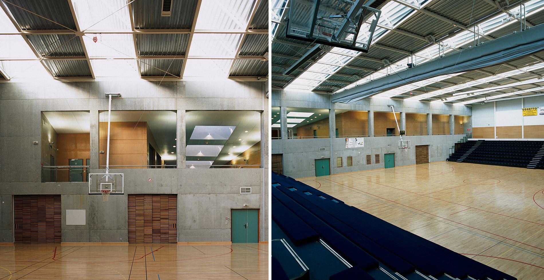 Salle basket Marlioz Aix-les-Bains