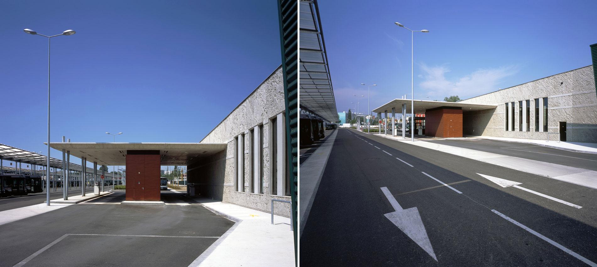 Centre de maintenance de tramway et bus - Agglomération strasbourgeoise