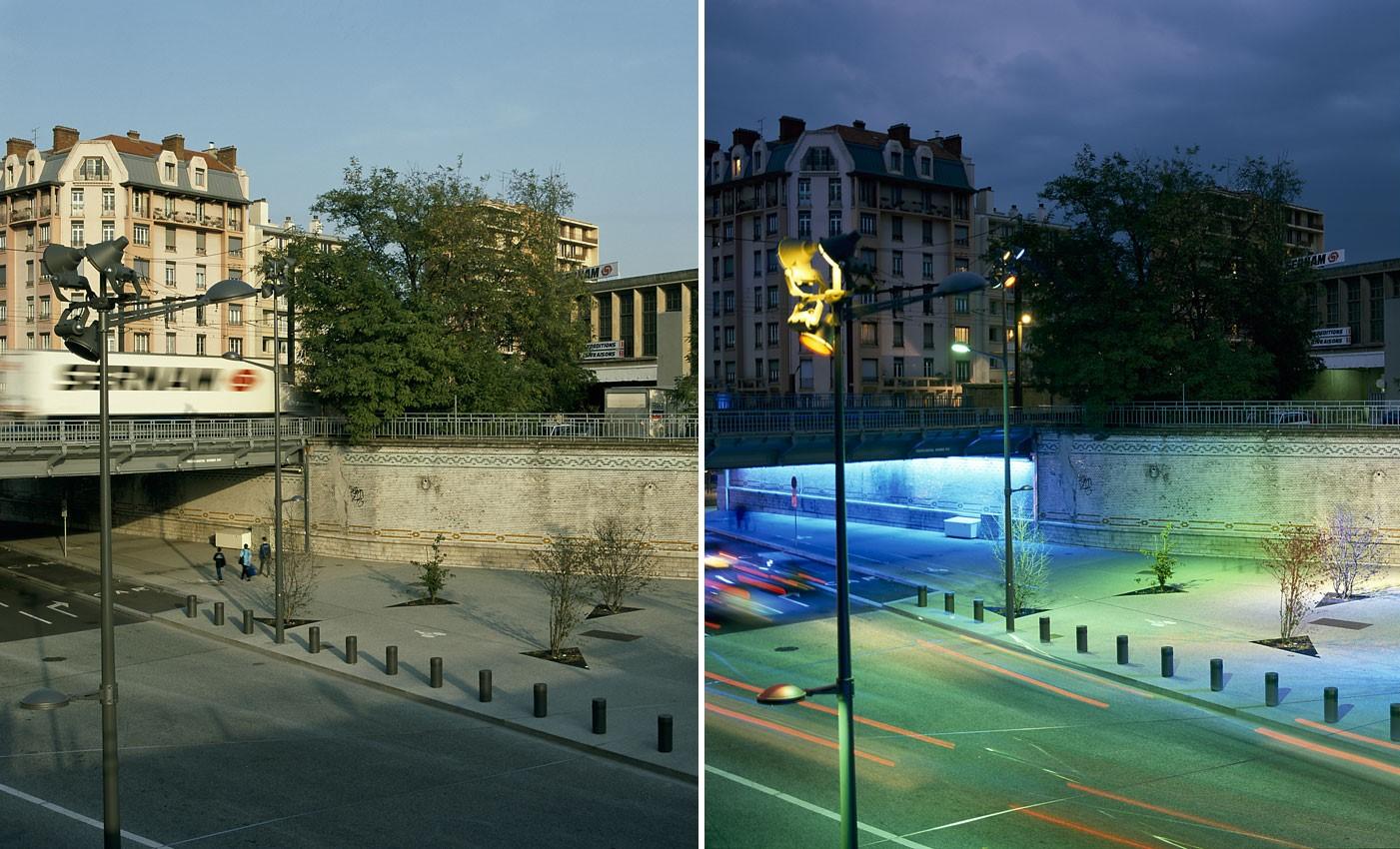 Aménagement urbain avenue J.Jaurès Lyon