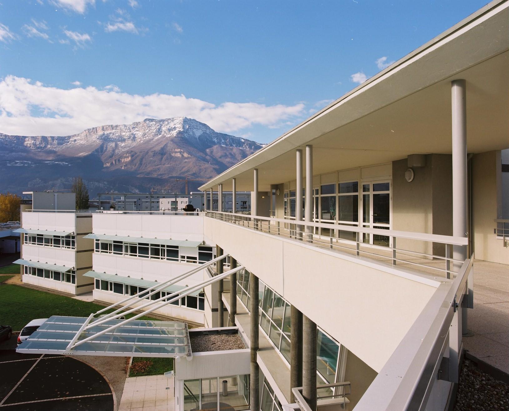 Pavillon gériatrie hôpital Grenoble Echirolles