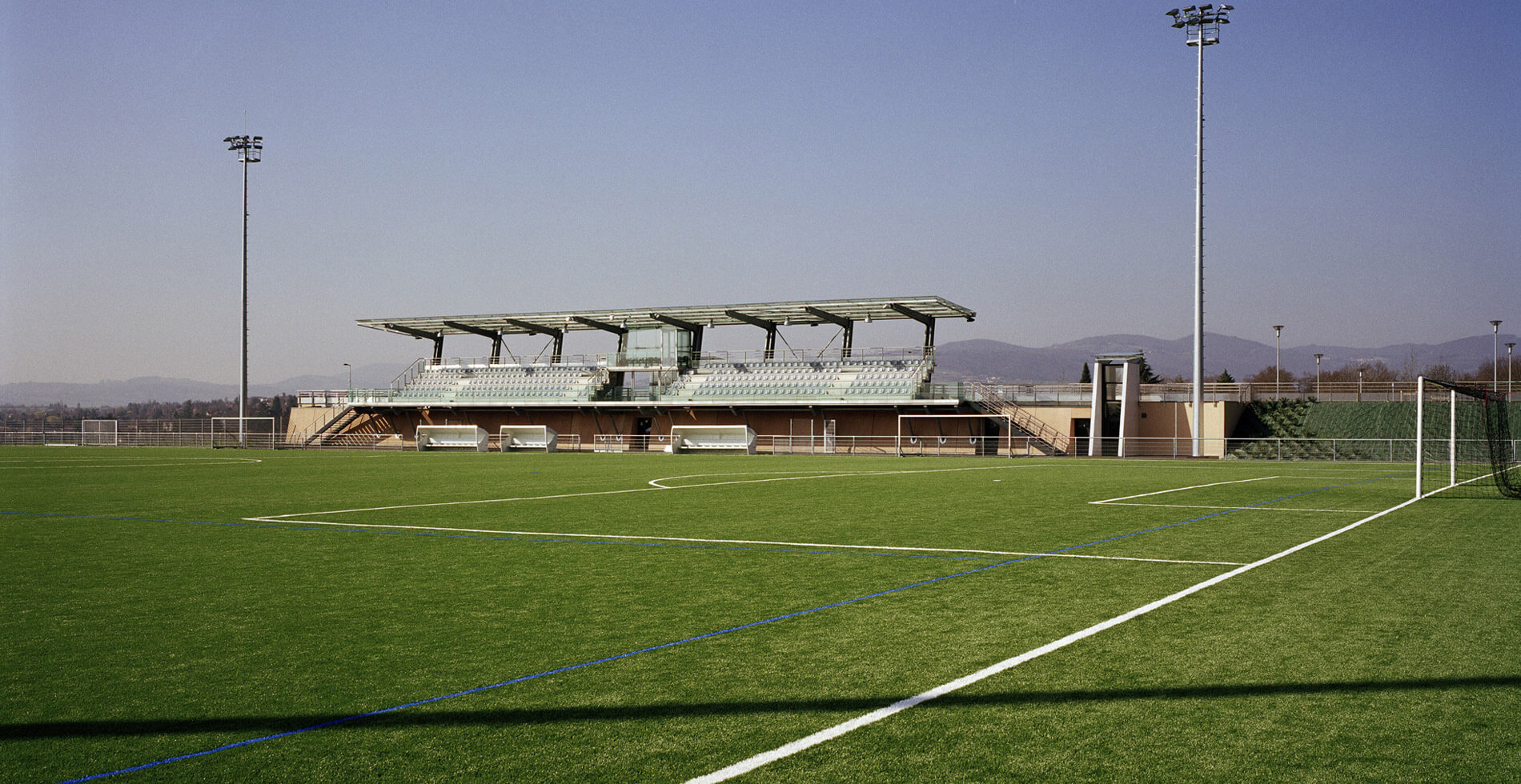 Stade de football Charles Trévoux à Craponne