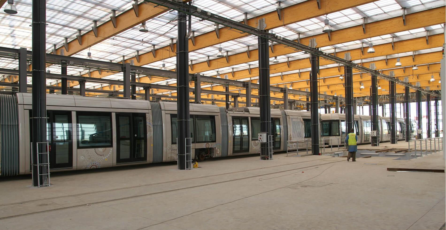Tramway Rabat Maroc